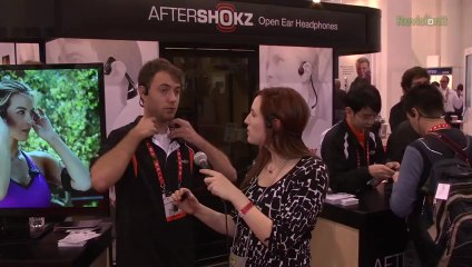 Bone Conduction Headphones are the Future of Audio at CES 2013 - Nixie Pixel Geekbuzz