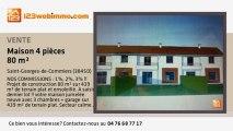 A vendre - maison - Saint-Georges-de-Commiers (38450) - 4 pi