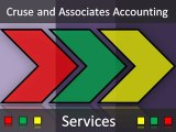 Cruse and Associates Accounting - Services - Cruse and Associates Accounting
