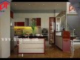 Tu bep, tủ bếp hiện đại, tủ bếp khuyến mãi tại Tủ Bếp Xinh
