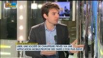 Taxis : la concurrence des chauffeurs privés : Pierre-Dimitri Gore-Coty - 11 janvier - BFM : GMB