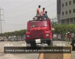 Voilence protests against anti encroachment drive in Bhopal.mp4