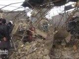 Pakistan : les images des dégats après le double-attentat à Quetta