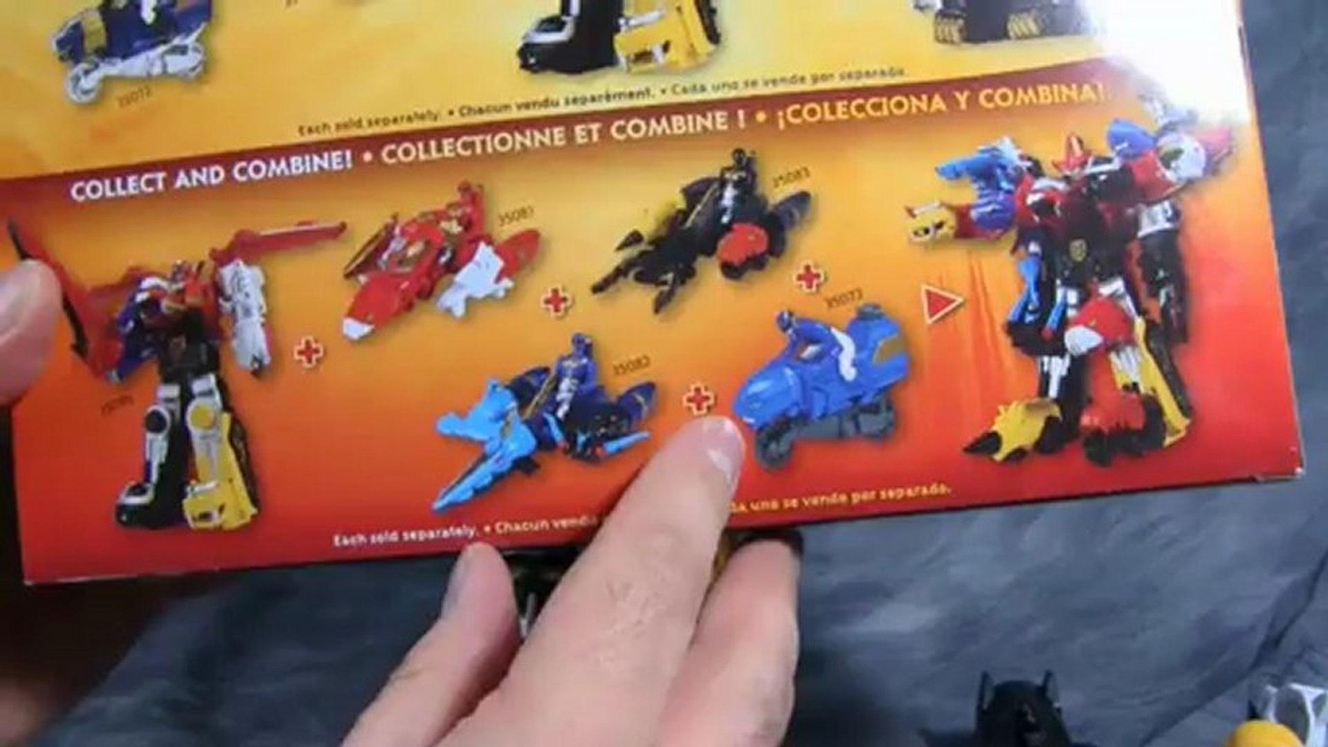 Power Ranger Megaforce - Sky Brother, Land Brother & Sea Brother Sets