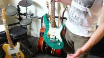 My Guitars - Andy from Nail Guitar shows you his guitars 2012