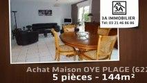 A vendre - maison - OYE PLAGE (62215) - 5 pièces - 144m²
