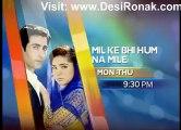 Mil Ke Bi Hum Na Mile By Geo TV - Episode 52 - 14th January 2013 - Promo