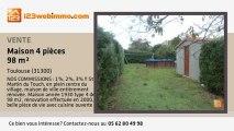 A vendre - maison - Toulouse (31300) - 4 pièces - 100m²