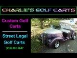 Charlie's Golf Carts -  Custom Golf Carts - New and Used Golf Carts