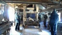 La scierie du Haut-Fer visitée par le 4x4 Club de Steinbourg