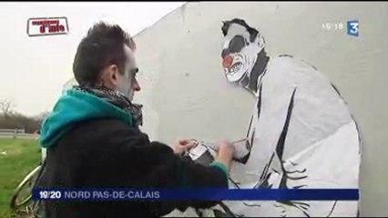 MIMI the ClowN & Jef Aerosol sur France3