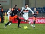 Montpellier Hérault SC (MHSC) - FC Lorient (FCL) Le résumé du match (20ème journée) - saison 2012/2013