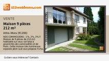 A vendre - maison - Athis-Mons (91200) - 9 pièces - 212m²
