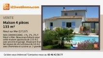 A vendre - maison - Nieul sur Mer (17137) - 4 pièces - 133m