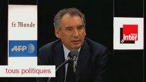 François Bayrou, invité de Tous Politiques sur France Inter - 130113
