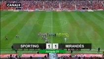 Liga Adelante  Sporting 1  Mirandés  1