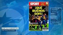 Le Barça, Mourinho et Van Persie dans votre revue de presse !