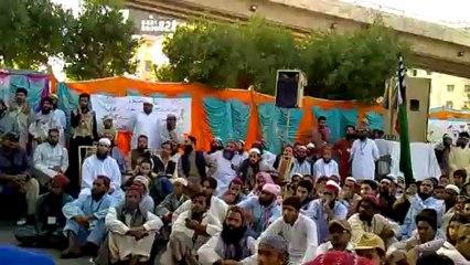 شیر اہلسنت ملک محمد اسحاق صاحب کا خطاب حصہ دوئم تحفظ اہلسنت کراچی