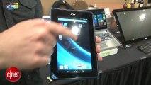 """CES 2013 : Iconia Tab B1, la tablette 7"""" d'Acer à bas prix"""