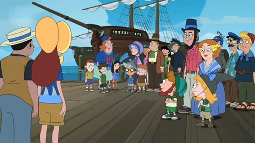 Phineas and Ferb - Song english - The Shark of Danville Harbor