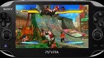 Street Fighter X Tekken - Gameplay #23 - Un peu de Tekken – PS Vita (GC 2012)