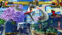 Persona 4 Arena - Bande-annonce #2 : E3 2012 - les personnages de Persona 4