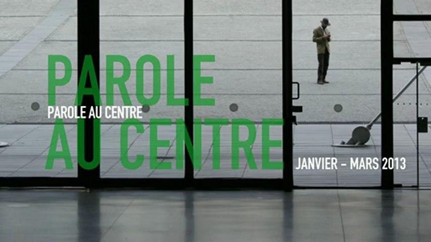 Parole au Centre | janvier/mars 2013