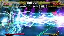 Persona 4 Arena - Gameplay #8 - Les coups de Yu Narukami