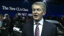 NAIAS 2013 World premiere Mercedes-Benz CLA - Prof. Dr. Thomas Weber