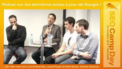 Table Ronde SEO Camp Day Toulouse 10/11/2012