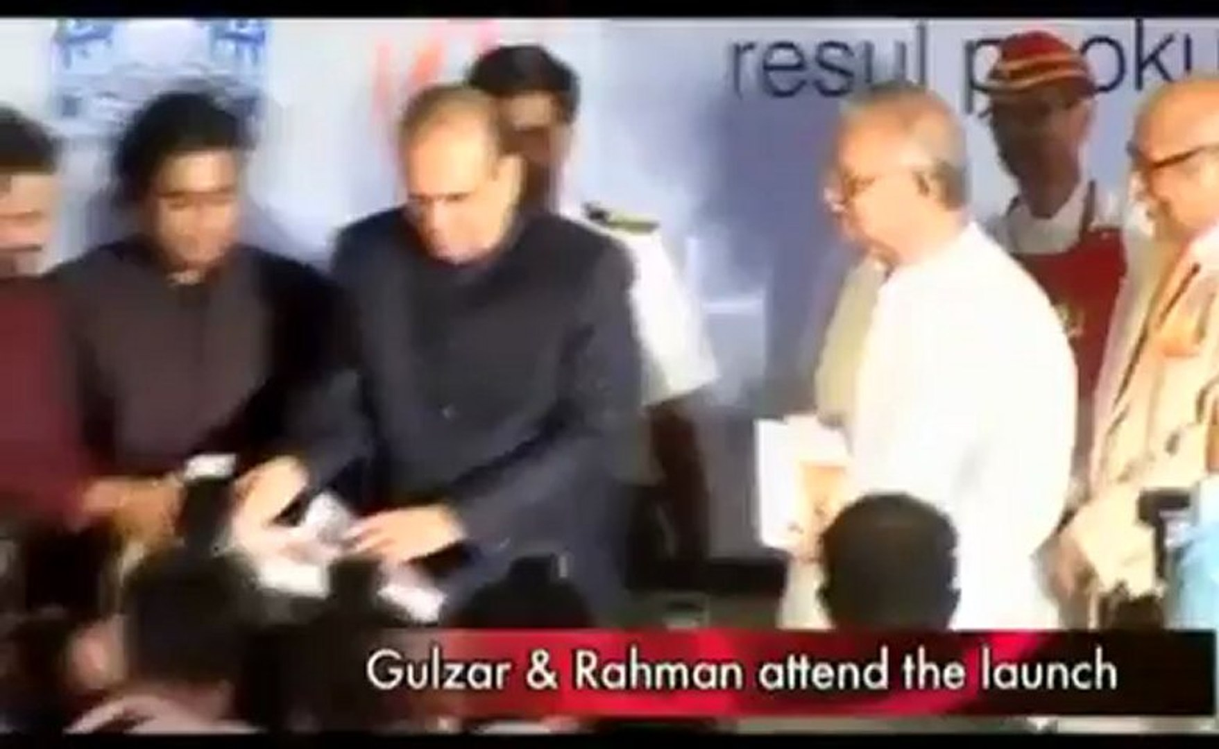 Rahman, Pookutty, Gulzar at this do.mp4