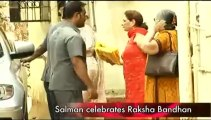 Salman Khan celebrates Raksha Bandhan with sisters.mp4