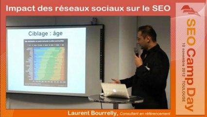Les réseaux sociaux par Laurent Bourrelly - SEO Camp Day Toulouse 10/11/2012