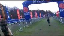 32e cross Ouest-France Pays de la Loire 2013 les 20km (  reportage avec mario et son petit vélo