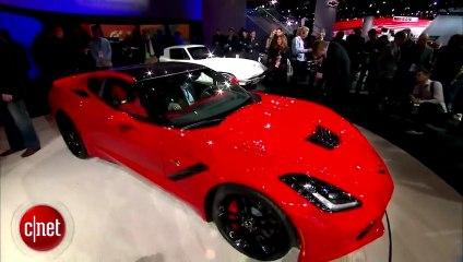 Detroit 2013 : nouvelle Corvette Stingray par Chevrolet