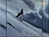 Portrait de Régis Roland le Pionnier du Snowboard (Annecy)