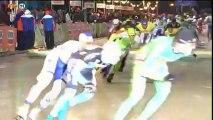 Schaatsmarathon heren Noordlaren: Bob de Jong stopt - RTV Noord