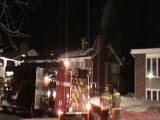 House Fire Ayer Ave. MFD and Codiac RCMP on scene