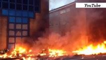 Londres : les images de l'accident d'hélicoptère