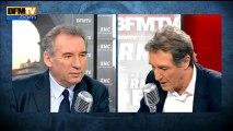 François Bayrou, invité de Bourdin Direct sur BFMTV - 160113