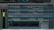 Fl Studio démo  remix  2013  bénassi Bros Feat Dhany  Hit my Heart