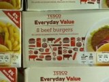 Tesco in horsemeat burger row