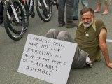 Manifestations des militants de Occupy en marge de la convention démocrate