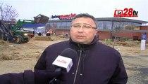 Le28.tv - COLERE DES AGRICULTEURS ET ELEVEURS EN EURE ET LOIR