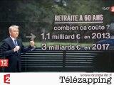 Télézapping - Réforme partielle des retraites