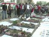 Les Egyptiens protestent contre les verdicts des procès Moubarak