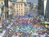 Fête du travail : les manifestants dans les rues de partout dans le monde