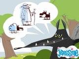 Le Loup et l'Agneau - Les Fables de La Fontaine en dessin animé - Jedessine.com