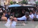 Enterrement du journaliste libanais mort en Syrie