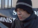 Manifestation des inspecteurs du travail : Anthony Smith - CGT